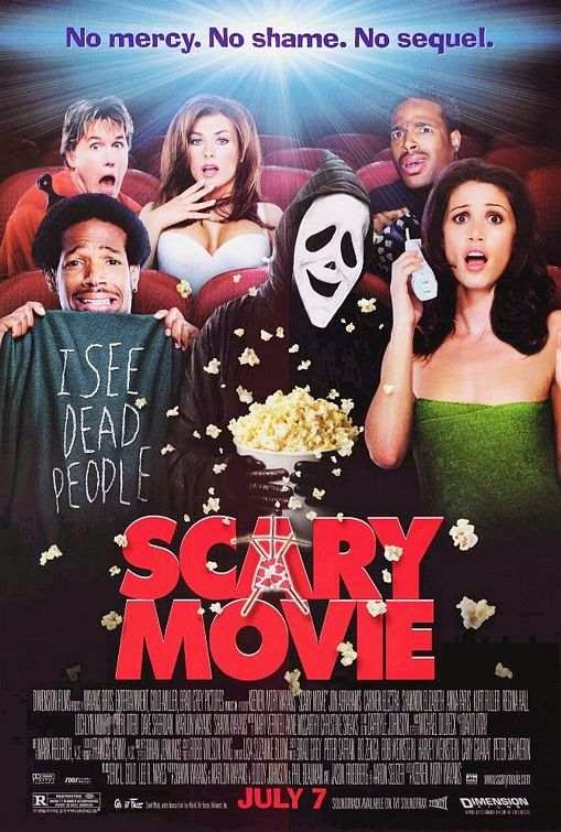 Poster Of Scary Movie (2000) Full Movie Hindi Dubbed Free Download Watch Online At Alldownloads4u.Com