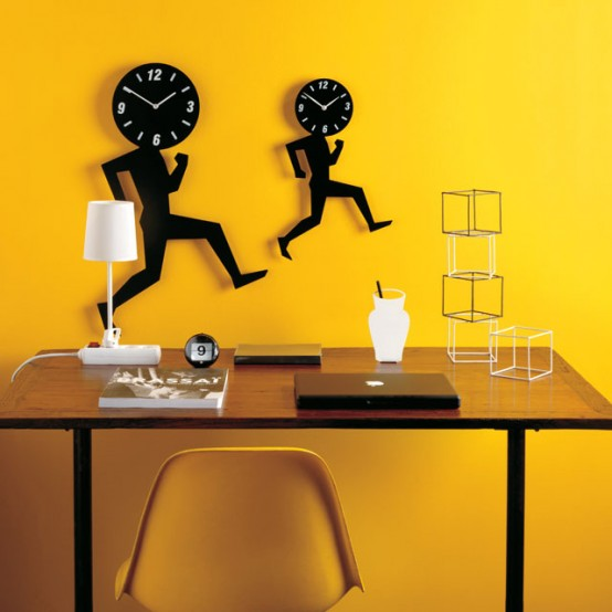 Homemodern House Design:  Home Modern : Form A Unique Wall Clock By Diamantini
