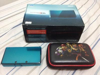 3DS Ambassador, Aqua Blue, Mario Case