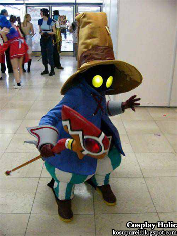 final fantasy ix cosplay - vivi ornitier