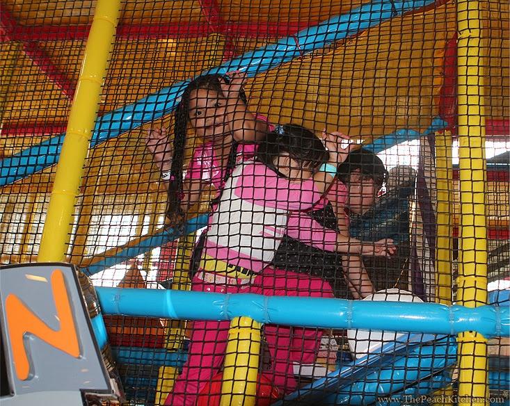 Johnson's Play Factory | www.thepeachkitchen.com