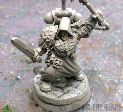 Asmodai Dark Angels Interrogator Chaplain primed