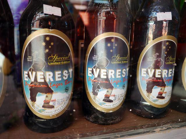 達人帶路-環遊世界-尼泊爾-everest啤酒