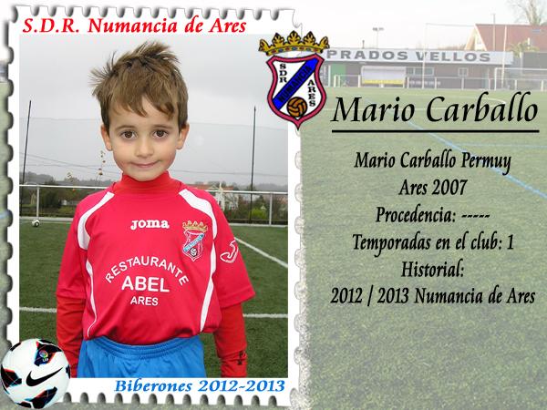 ADR Numancia de Ares. Mario Carballo.
