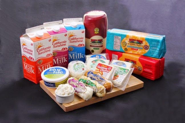 Real California Cheese from the California Milk Advisory Board
