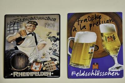 Historische Reklameschilder