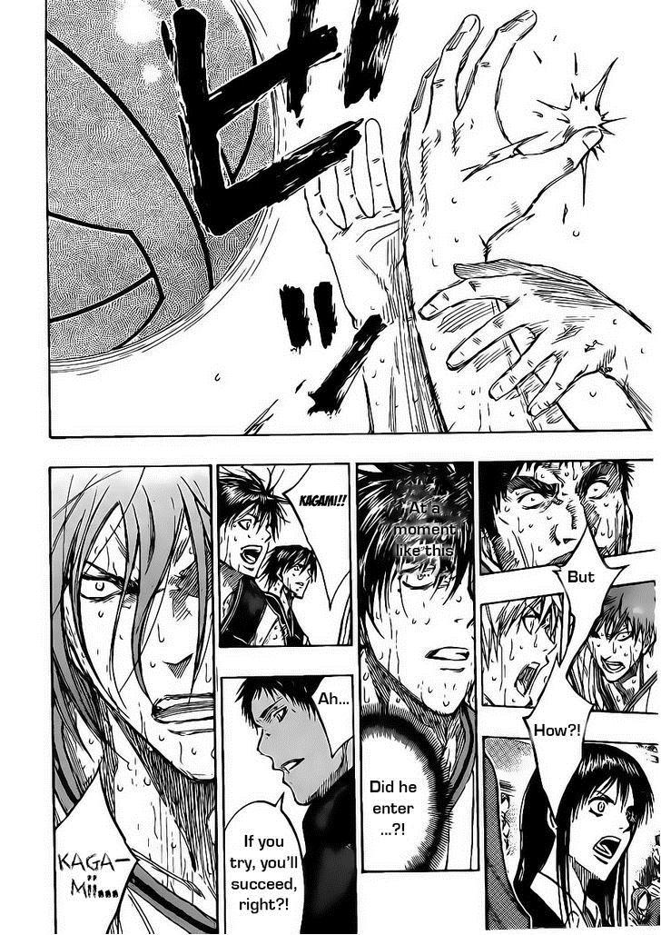 Kuroko no Basket Manga Chapter 163 - Image 16