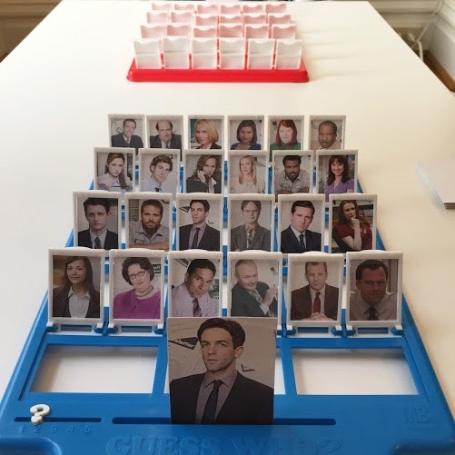 DIY Guess Who Templates