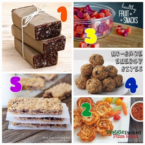 Healthy Snack Ideas For Summer Camp - healthy snacks for ...