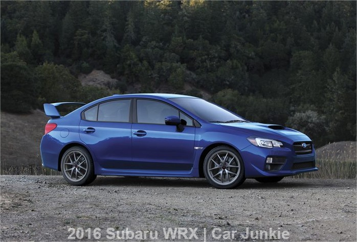 2016 Subaru WRX STI Specs Review: Updates Features