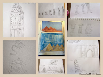 geography through art projects