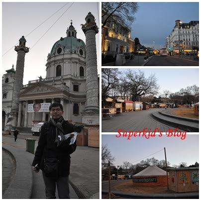 我在維也納卡爾教堂