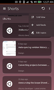 Ubuntu Touch shorts