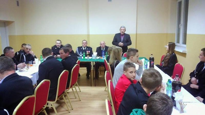 Spotkanie sprawozdawcze OSP Chroberz