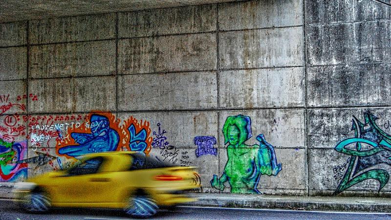 Graffio giallo