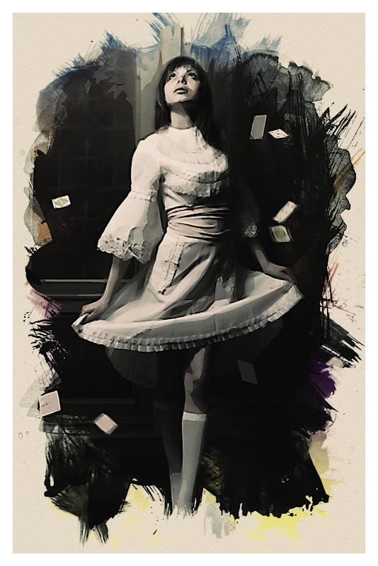 เทคนิคการทำภาพสไตล์ Watercolor Portrait Wcpt41