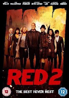 Filme Poster RED 2 - Aposentados e Ainda Mais Perigosos DVDRip XviD & RMVB Legendado