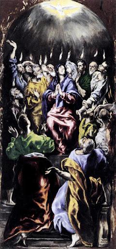 El Greco (+1614), Pentecostés