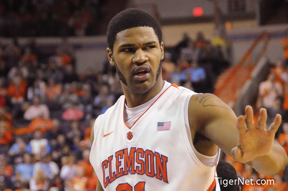 Clemson Basketball vs North Carolina Photos - 2013, Basketball, Devin Booker, North Carolina
