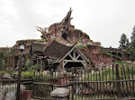 Splash Mountain's last day before refurbishment