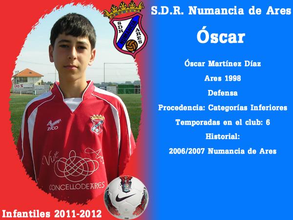 ADR Numancia de Ares. Infantís 2011-2012. OSCAR.