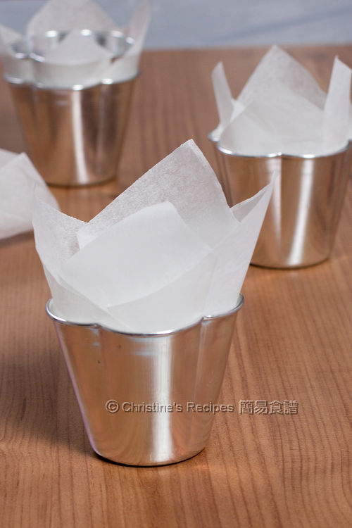 如何鋪紙包蛋糕紙 How To Line a Cup Cake Tin