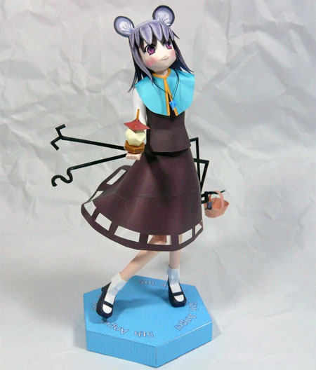 Touhou Project Papercraft Nazrin