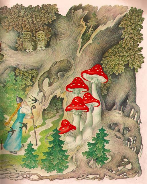 Марьюшка и темный лес