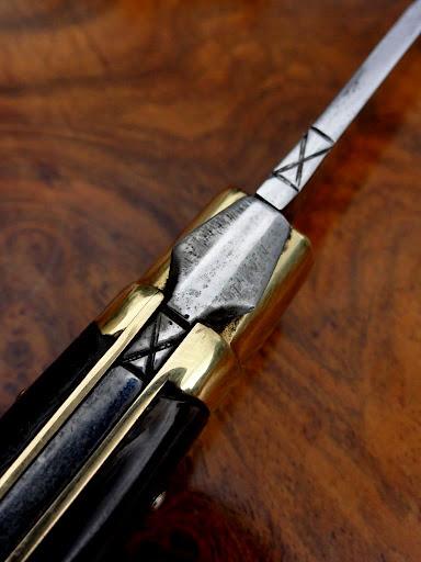 Rare couteau ancien laguiole calmels croix de st andr ebay - Je reste a votre disposition pour toutes informations complementaires ...