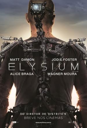 Filme Poster Elysium R6 XviD & RMVB Dublado