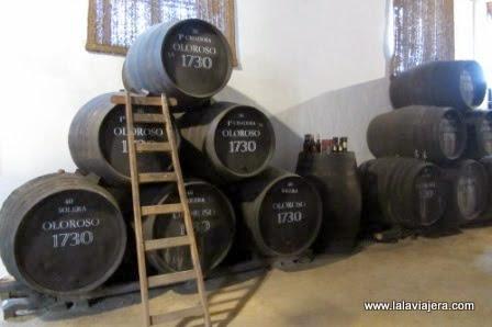 Visita a la Bodega Alvaro Domecq, en Jerez