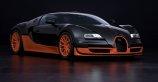 Bugatti Veyron SS - the fastest car on the Top Gear track ever!