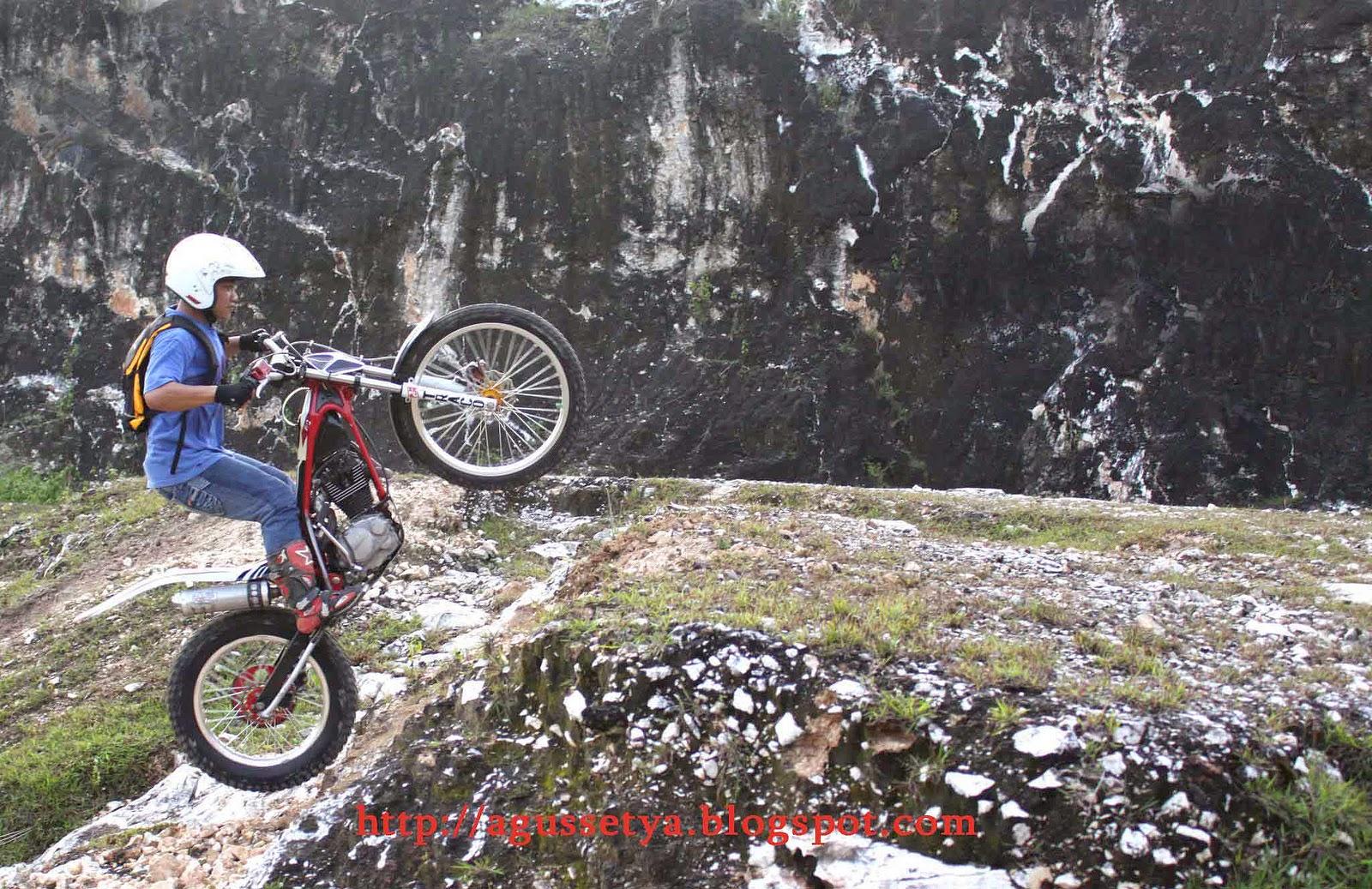 Koleksi Foto Modifikasi Motor Bebek Menjadi Trail Terlengkap