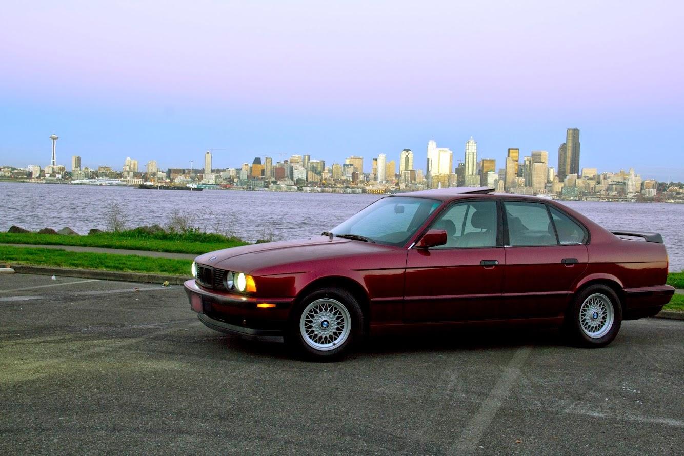 wa fs: 1992 bmw 525i, 5spd, calypso - $1500 obo.