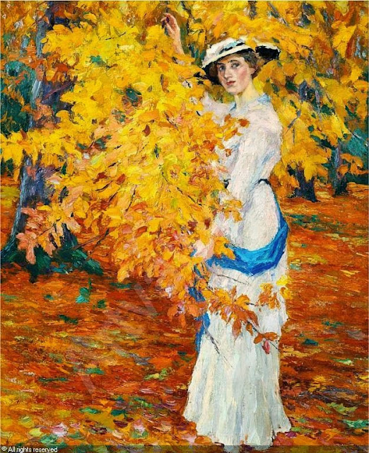 Edward Cucuel - Golden Autumn