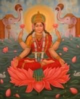 Goddess Kamala Image