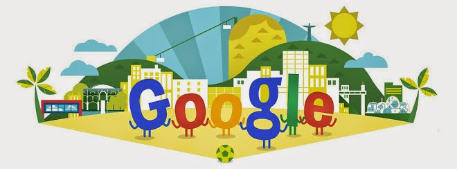 fifa world cup football 2014 google doodle