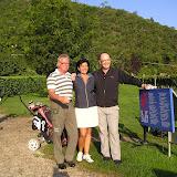 Golfen mit der Chefin Ruth Pirhofer auf dem Golfplatz in Lana