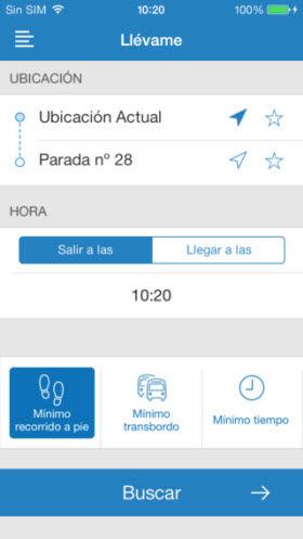 Nueva y mejorada aplicación para móviles de los autobuses EMT