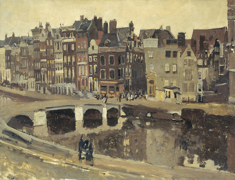 George Hendrik Breitner - The Rokin in Amsterdam