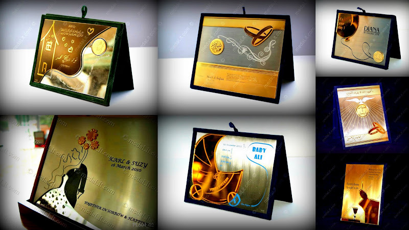 PERSONAL STRATA pERSONALIZED LUXURY PLAQUES