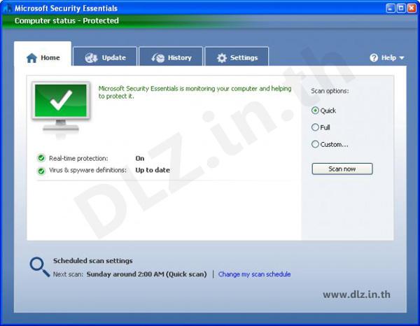 ดาวน์โหลด Security Essentials 4 โหลดโปรแกรม Security Essentials ล่าสุดฟรี