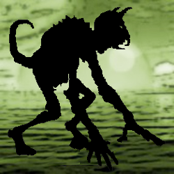 monster silhouette