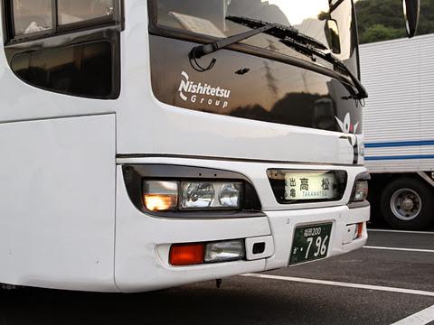 西鉄高速バス「さぬきエクスプレス福岡号」 3802 鴻ノ池パーキングエリアにて その4