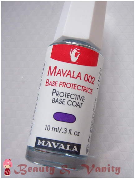 Mavala 002 Base Protectrice