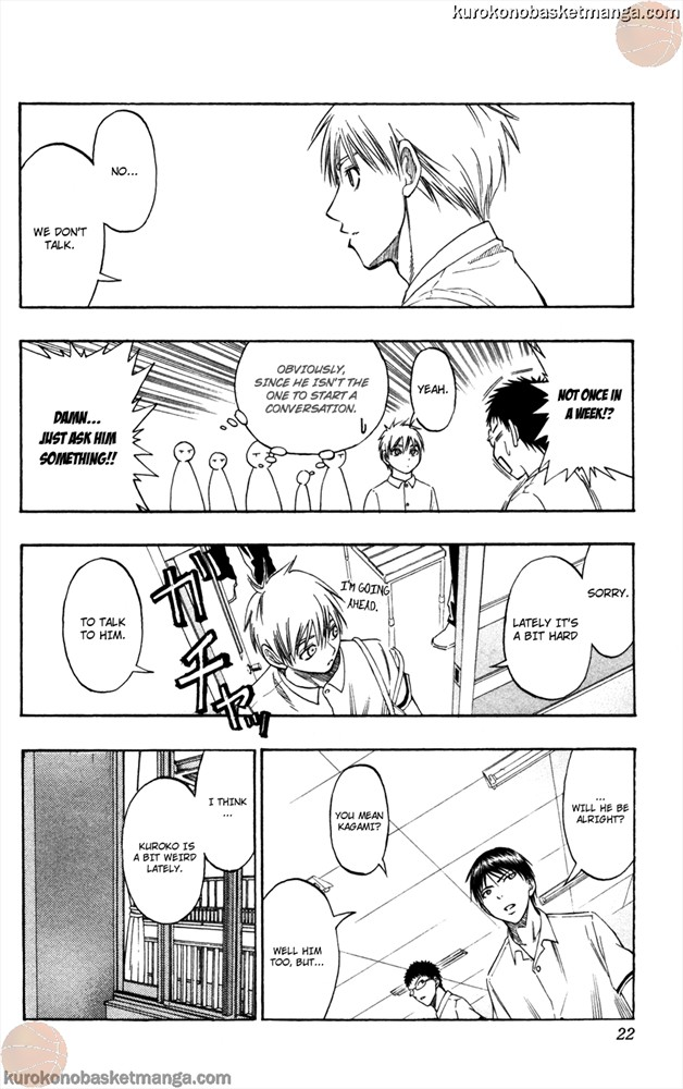 Kuroko no Basket Manga Chapter 53 - Image 0/022