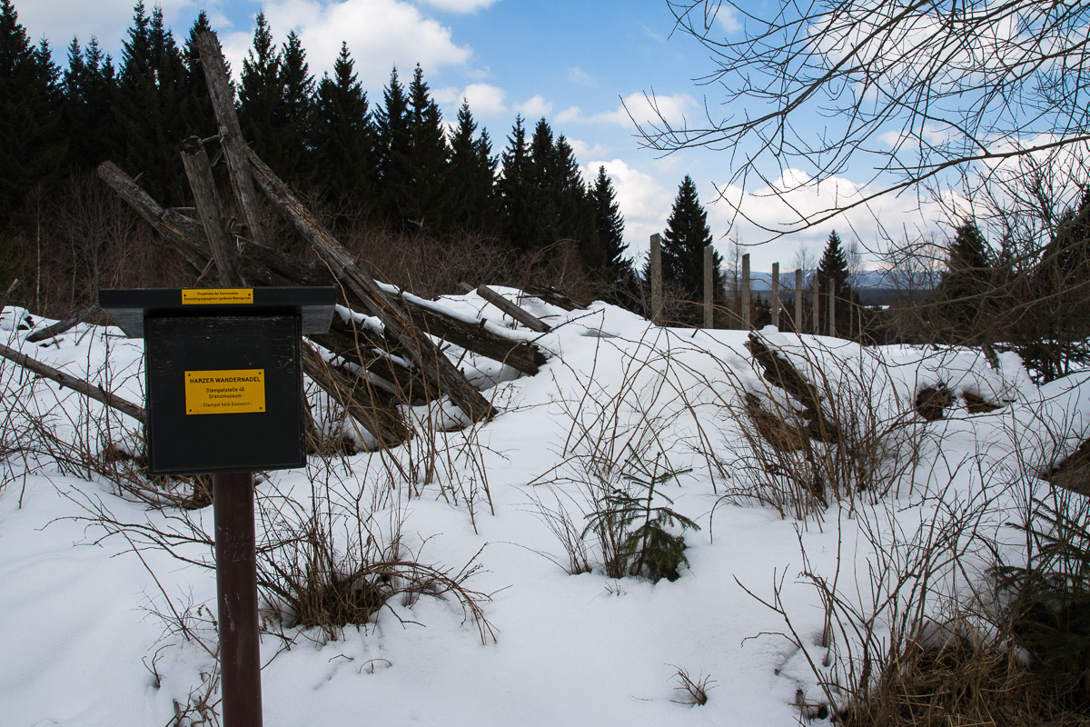 Stempelstelle Nr. 46 der Harzer Wandernadel