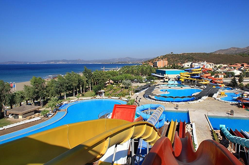 Gümüldür Yalı Castle Aquapark İzmir Servis