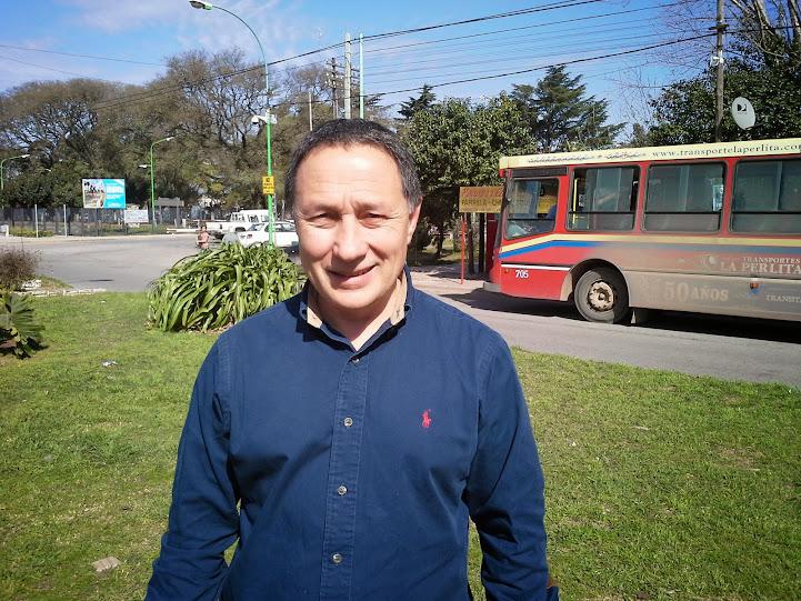 Precandidato a Gobernador del FAP visitó Rodríguez y pasó por el Hospital Vicente López