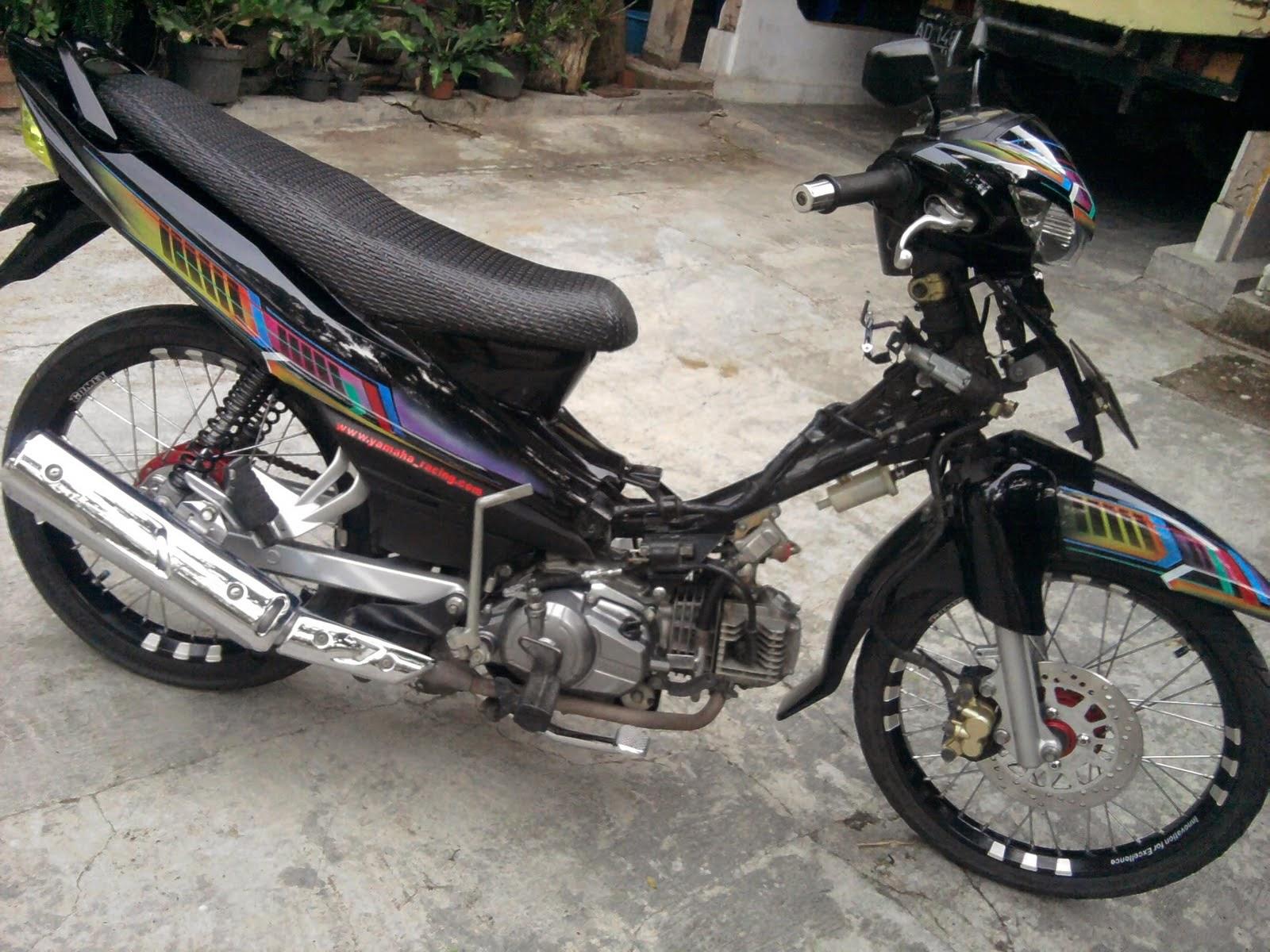 modifikasi motor jupiter z 2007